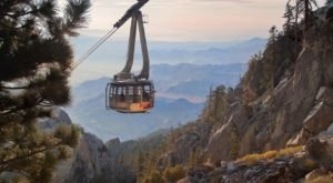 This Scenic Tram Ride In Southern California Will Take You To The Top Of The World