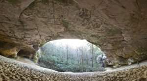 The Sand Cave Hike In Virginia That's Unlike Any Other In The World