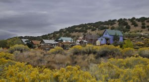 When You Visit This One New Mexico Town, You'd Never Guess It Was Once A Ghost Town