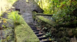Most People Don't Know The Story Behind These Breathtaking Portland Ruins
