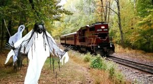 The Haunted Train Ride Through Pennsylvania That Will Terrify You In The Best Way Possible