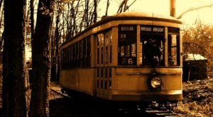 The Haunted Trolley Ride Through Connecticut That Will Terrify You In The Best Way Possible