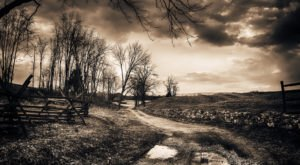 The Sunken Road In Maryland Where You Can Walk Amongst The Dead