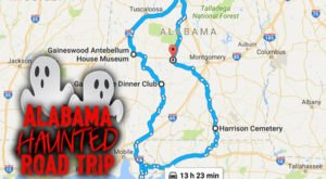 This Haunted Road Trip Will Lead You To The Scariest Places In Alabama
