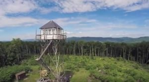 You'll Never Forget An Overnight In This Old Fire Tower In West Virginia