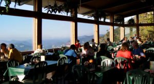 Get Unprecedented Views While You Eat At this Mountain Top Restaurant In North Carolina