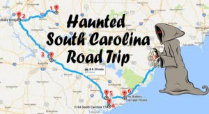 This Haunted Road Trip Will Lead You To The Scariest Places In South Carolina