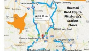 This Haunted Road Trip Will Lead You To The Scariest Places In Pittsburgh