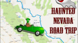 The Haunted Road Trip That Will Lead You To The Scariest Places In Nevada