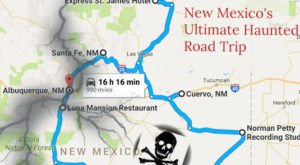 The Haunted Road Trip That Will Lead You To The Scariest Places In New Mexico