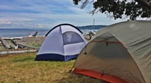 9 Spectacular Spots In Washington Where You Can Camp Right On The Beach