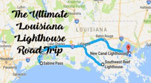 The Lighthouse Road Trip On The Louisiana Coast That's Dreamily Beautiful