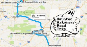 Take A Haunted Road Trip To Visit Some Of The Spookiest Places In Arkansas
