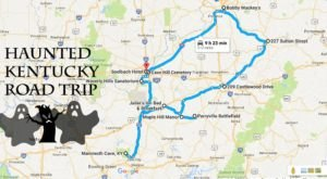 The Haunted Road Trip That Will Lead You To The Scariest Places In Kentucky