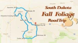 Take This Gorgeous Fall Foliage Road Trip To See South Dakota Like Never Before
