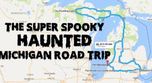 This Haunted Road Trip Will Lead You To The Scariest Places In Michigan