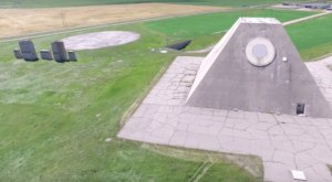 Drone Footage Captured At This Abandoned North Dakota Military Complex Is Truly Grim