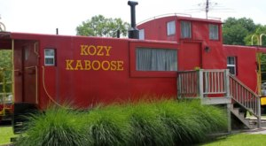 You'll Never Forget An Overnight In This Retired Caboose In Missouri