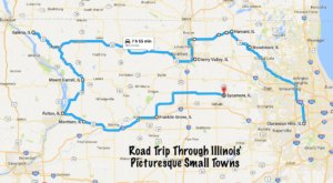 Take This Road Trip Through Illinois's Most Picturesque Small Towns For A Charming Experience