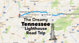 The Lighthouse Road Trip In Tennessee That's Dreamily Beautiful
