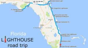 The Lighthouse Road Trip On The Florida Coast That's Dreamily Beautiful