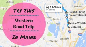 The Gems Of Route 26 Will Take You On An Incredible Trip Through Western Maine