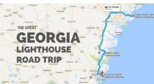 The Lighthouse Road Trip On The Georgia Coast That's Dreamily Beautiful