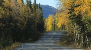 13 Country Roads In Alaska That Are Pure Bliss In The Fall