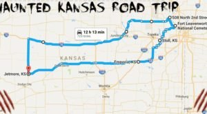 This Haunted Road Trip Will Lead You To The Scariest Places In Kansas