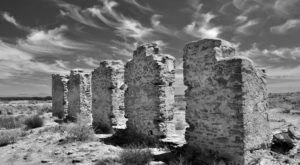 The Remnants Of This Abandoned Fort In New Mexico Are Hauntingly Beautiful
