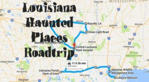 The Haunted Road Trip That Will Lead You To The Scariest Places In Louisiana