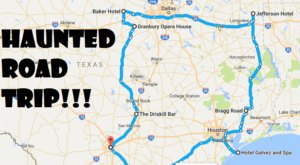 This Haunted Road Trip Will Lead You To The Scariest Places In Texas