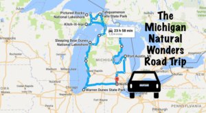 This Natural Wonders Road Trip Will Show You Michigan Like You've Never Seen It Before