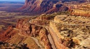 Take Utah's Most Dangerous Road For Unbelievably Breathtaking Views