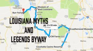 Take This Mythical Drive Through Louisiana For A Legendary Experience