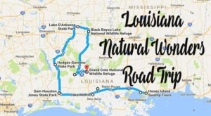 This Natural Wonders Road Trip Will Show You Louisiana Like You've Never Seen It Before