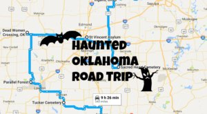This Haunted Road Trip Will Lead You To The Scariest Places In Oklahoma