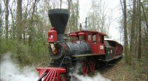The Haunted Train Ride Through Texas That Will Terrify You In The Best Way Possible