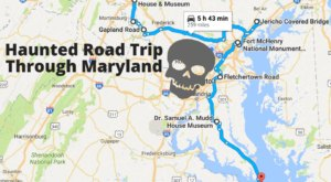 This Haunted Road Trip Will Lead You To The Scariest Places In Maryland