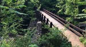 Explore Ancient Volcanoes At Dells Of The Eau Claire Park In Wisconsin