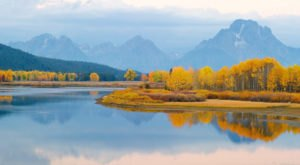 This Charming Wyoming Town Is Picture Perfect For An Autumn Day Trip