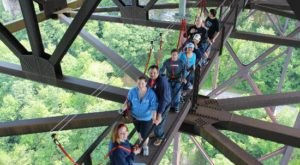 Walk 851 Feet Above The New River Gorge With Bridge Walk, A Fun Tour Company In West Virginia