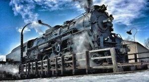 Enjoy A Magical Polar Express Train Ride At The Steam Railroading Institute In Michigan