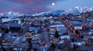 Experience An Old World Christmas At This Charming Historic Village In Nevada