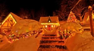 North Pole Turns Into A Winter Wonderland Each Year In New York