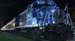 Enjoy A Magical Polar Express Train Ride Aboard The Santa Express Train In Georgia