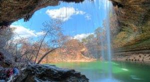 The Beautiful Waterfall In Texas You Can Actually Swim In
