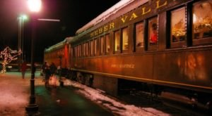 The Magical North Pole Express Train Ride In Utah Everyone Should Experience At Least Once