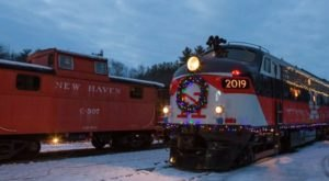 Enjoy A Magical Polar Express Train Ride Aboard The Northern Lights Limited In Connecticut