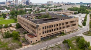 Step Inside This Forbidden Book Warehouse That's Been Left To Decay In Michigan